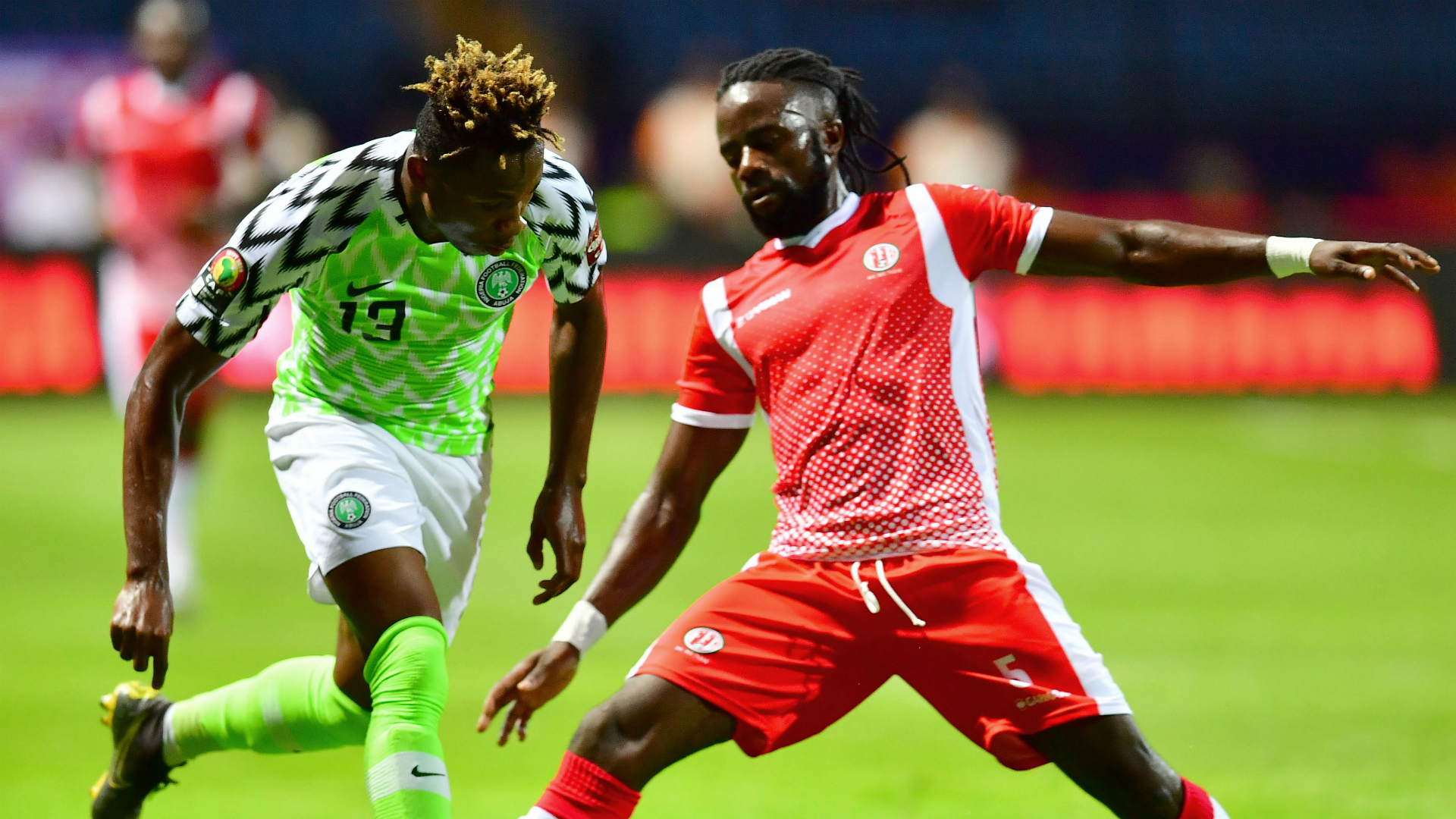Cameroon 0-0 Nigeria: Super Eagles hold Indomitable Lions