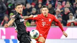 Bayern Bayer Lewandowski Aránguiz