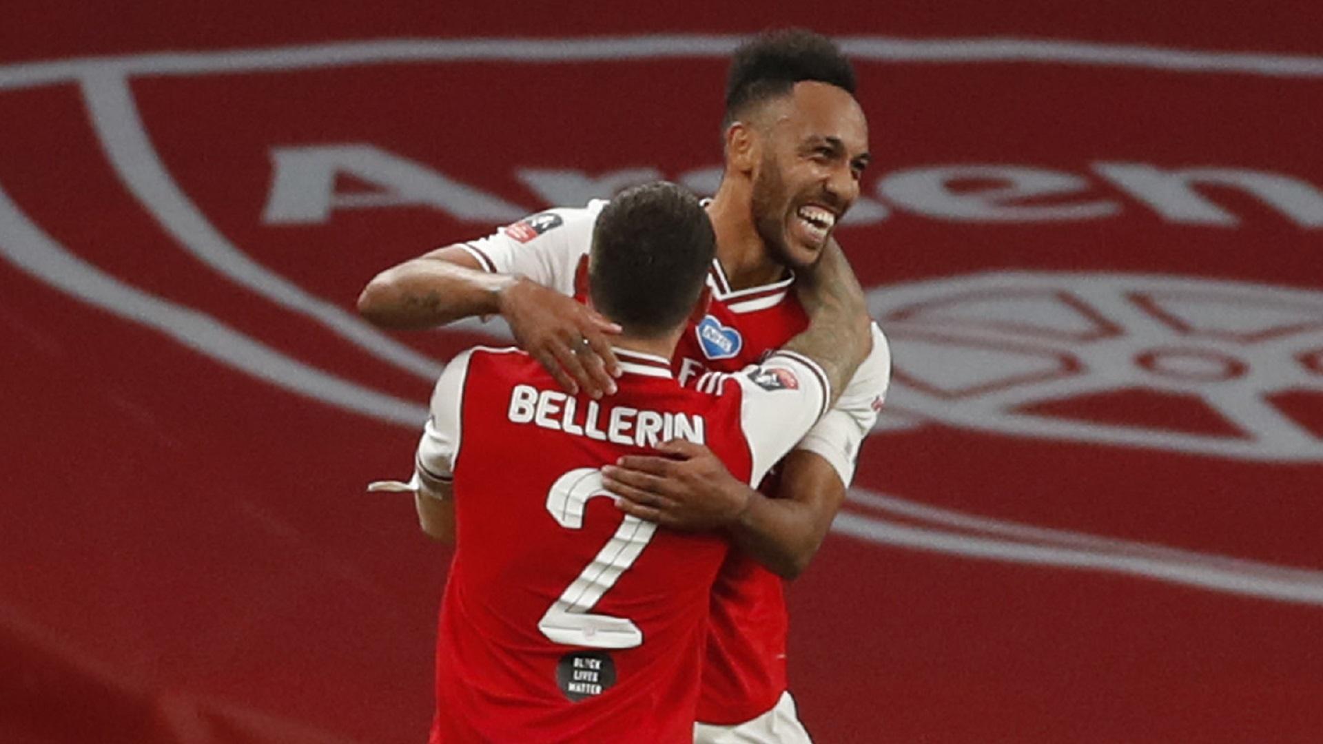 Arsenal - Man City (2-0), Aubameyang et les Gunners créent l'exploit face à City
