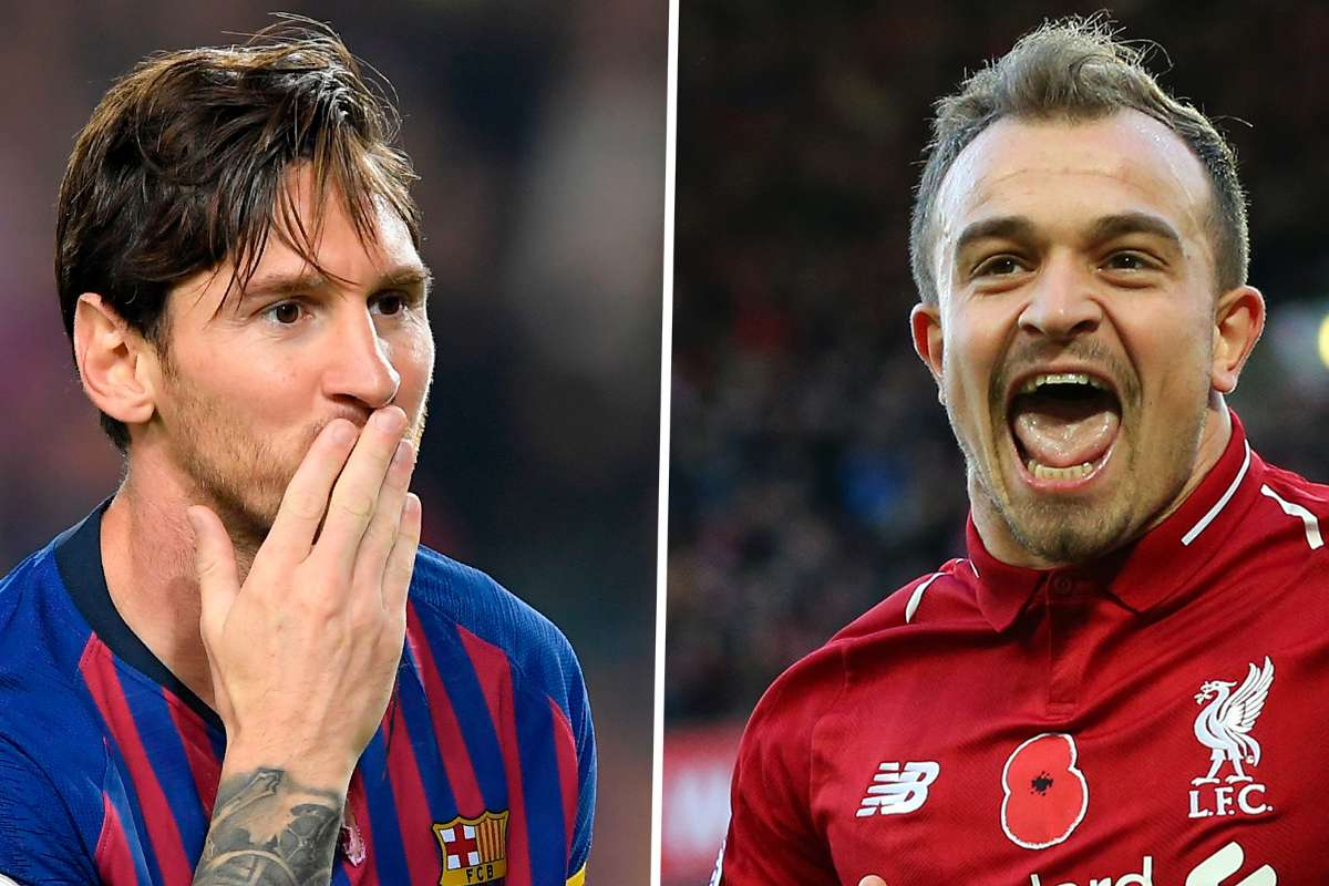 Liverpool News Shaqiri Compared To Messi As His Former Boss Challenges Him To Be Liverpool S Best Player Goal Com