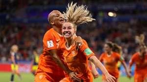 Jackie Groenen Netherlands Sweden Womens' World Cup 2019