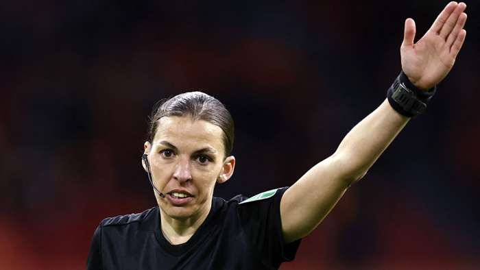 Stephanie Frappart referee World Cup 2022 qualification