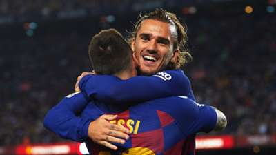 Antoine Griezmann, Lionel Messi, Barcelona vs Villarreal