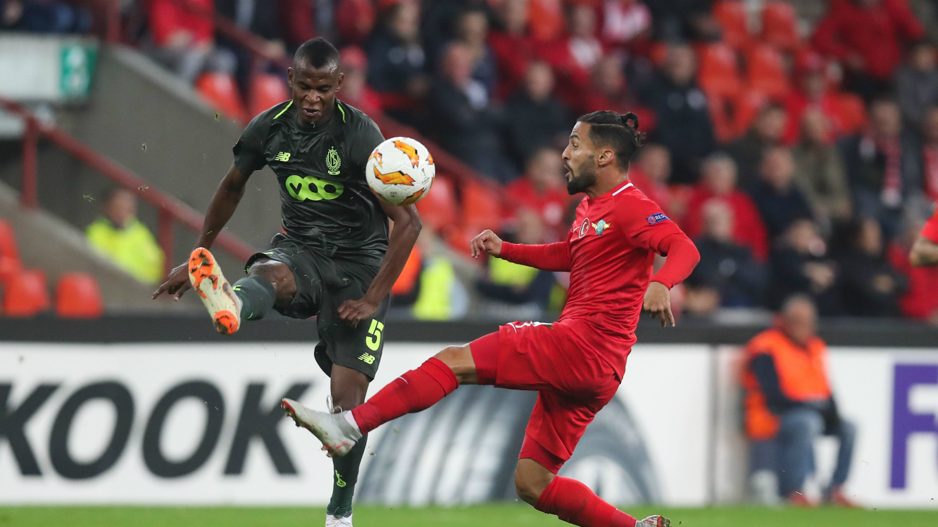Agbo: Deportivo La Coruna sign former Watford midfielder from Standard Liege