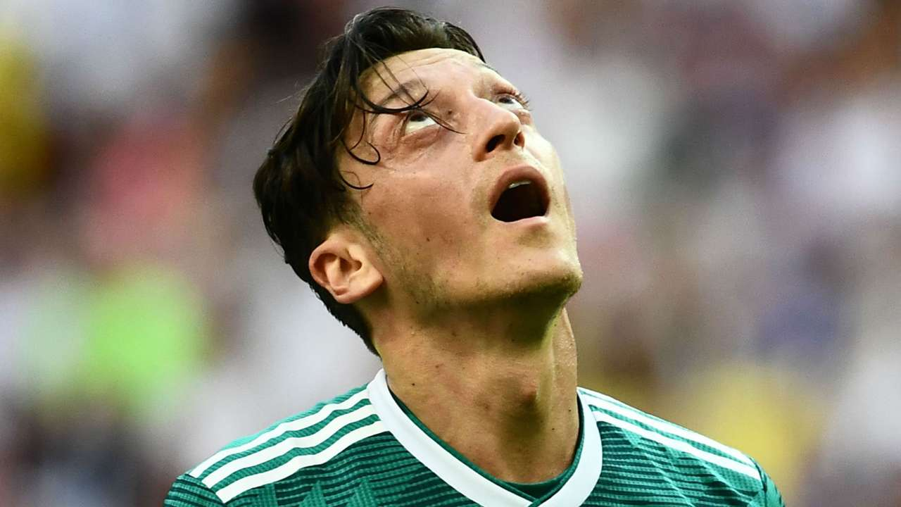 Mesut Ozil Germany World Cup