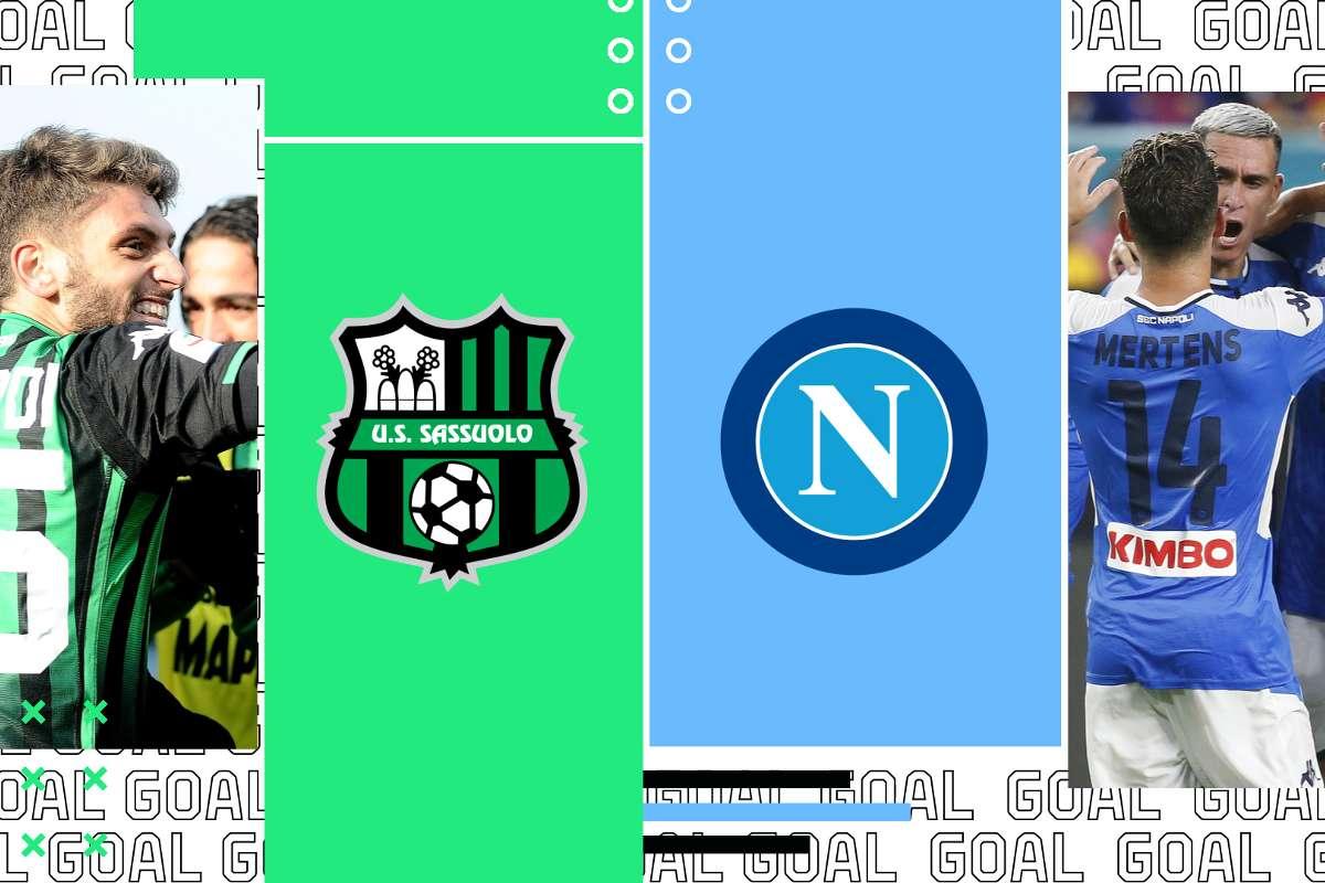 Sassuolo-Napoli dove vederla: Sky o DAZN? Canale tv e diretta ...