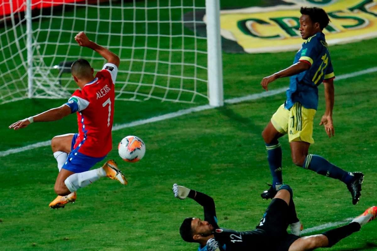 VIDEO: Alexis Sánchez remonta a Colombia | Goal.com