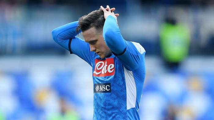 Zielinski disappointed Napoli Lecce