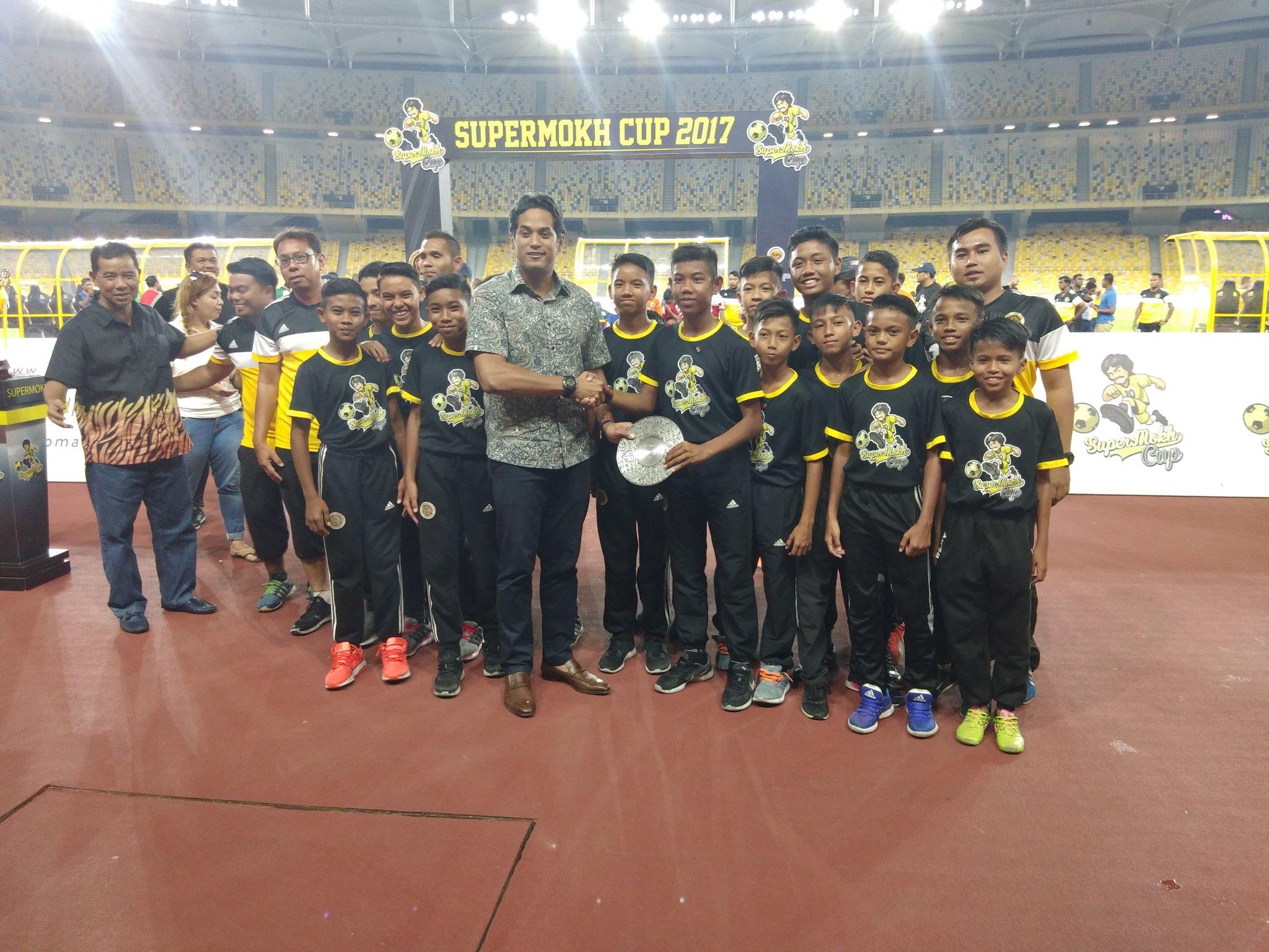 Khairy Jamaluddin, Supermokh Cup, 17122017