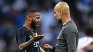 Raheem Sterling Pep Guardiola Manchester City Brighton FA Cup 060419