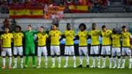 Nómina colombia vs España 2017