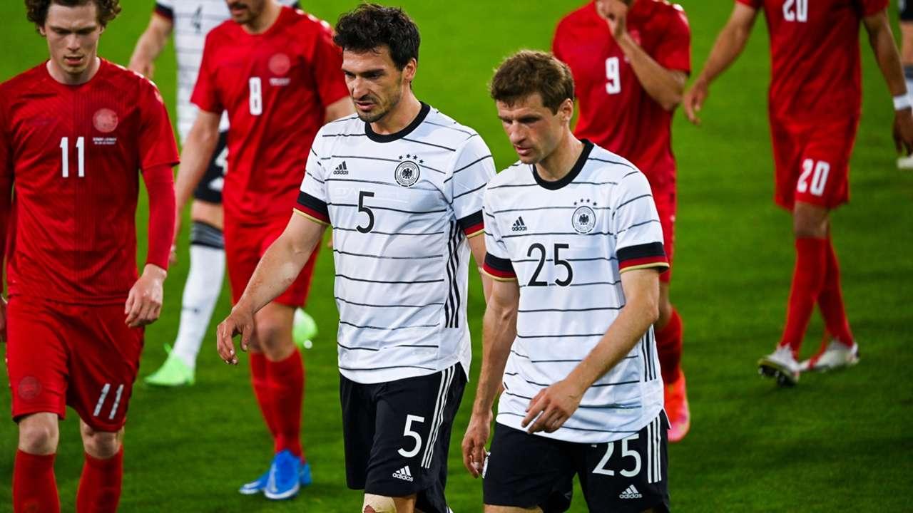 Thomas Muller Mats Hummels Germany Denmark Friendly 2021