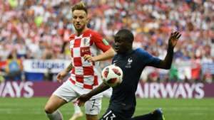 Ivan Rakitic N'Golo Kante France Croatia World Cup final 2018