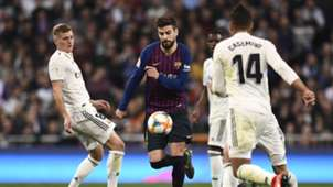 Gerard Pique FC Barcelona Clasico 27022019