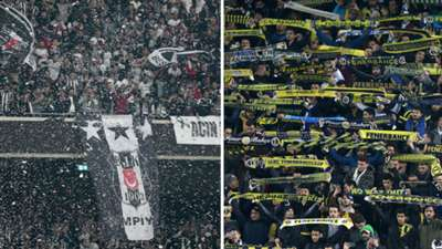Besiktas Fenerbahce fans
