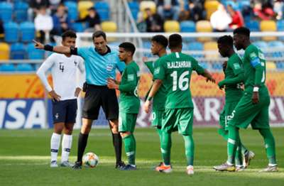 المنتخب السعودي للشباب - كأس العالم - فرنسا