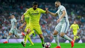 Mateo Musacchio Karim Benzema Real Madrid Villarreal La Liga 21092016