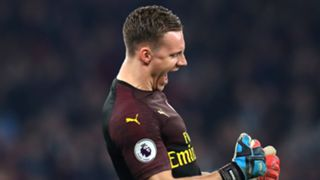 Bernd Leno Arsenal 2018/19