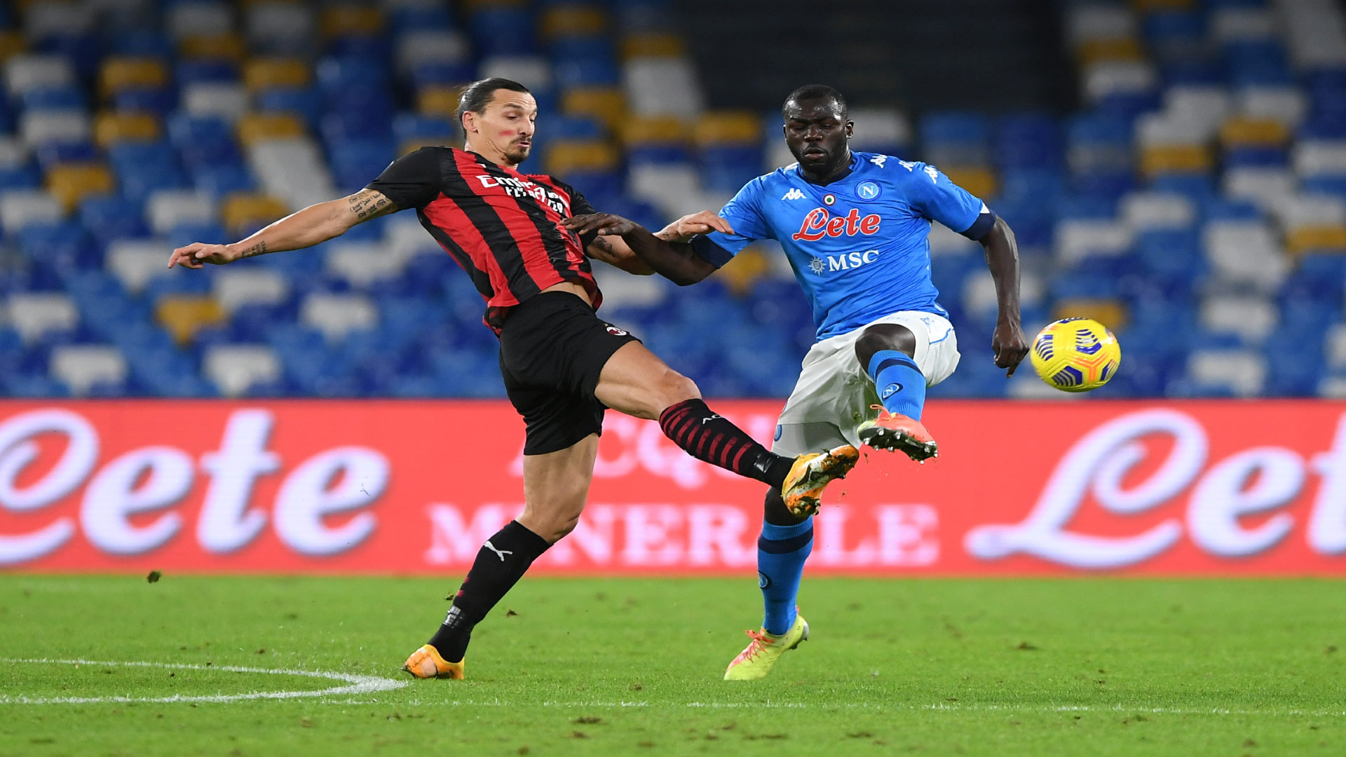 Koulibaly vs Ibrahimovic: How did Napoli centre-back fare against colossal Swede?