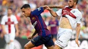 Philippe Coutinho Jorge Miramon Barcelona Huesca LaLiga 02092018