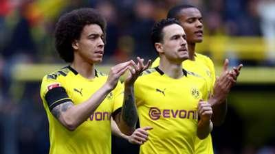 Axel Witsel Thomas Delaney Borussia Dortmund 11052019