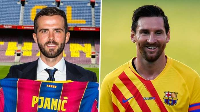 Miralem Pjanic, Lionel Messi, Barcelona