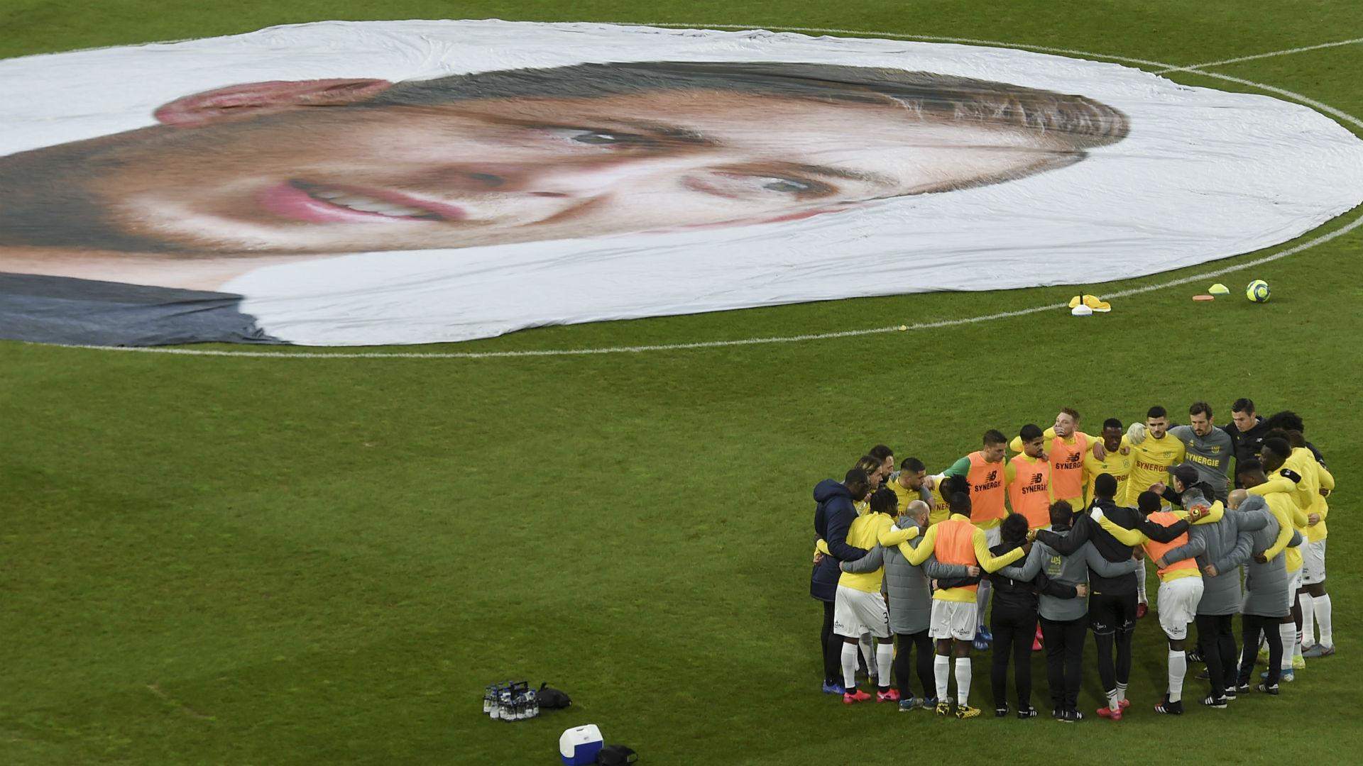 Nantes - Le magnifique hommage à Emiliano Sala avant Bordeaux