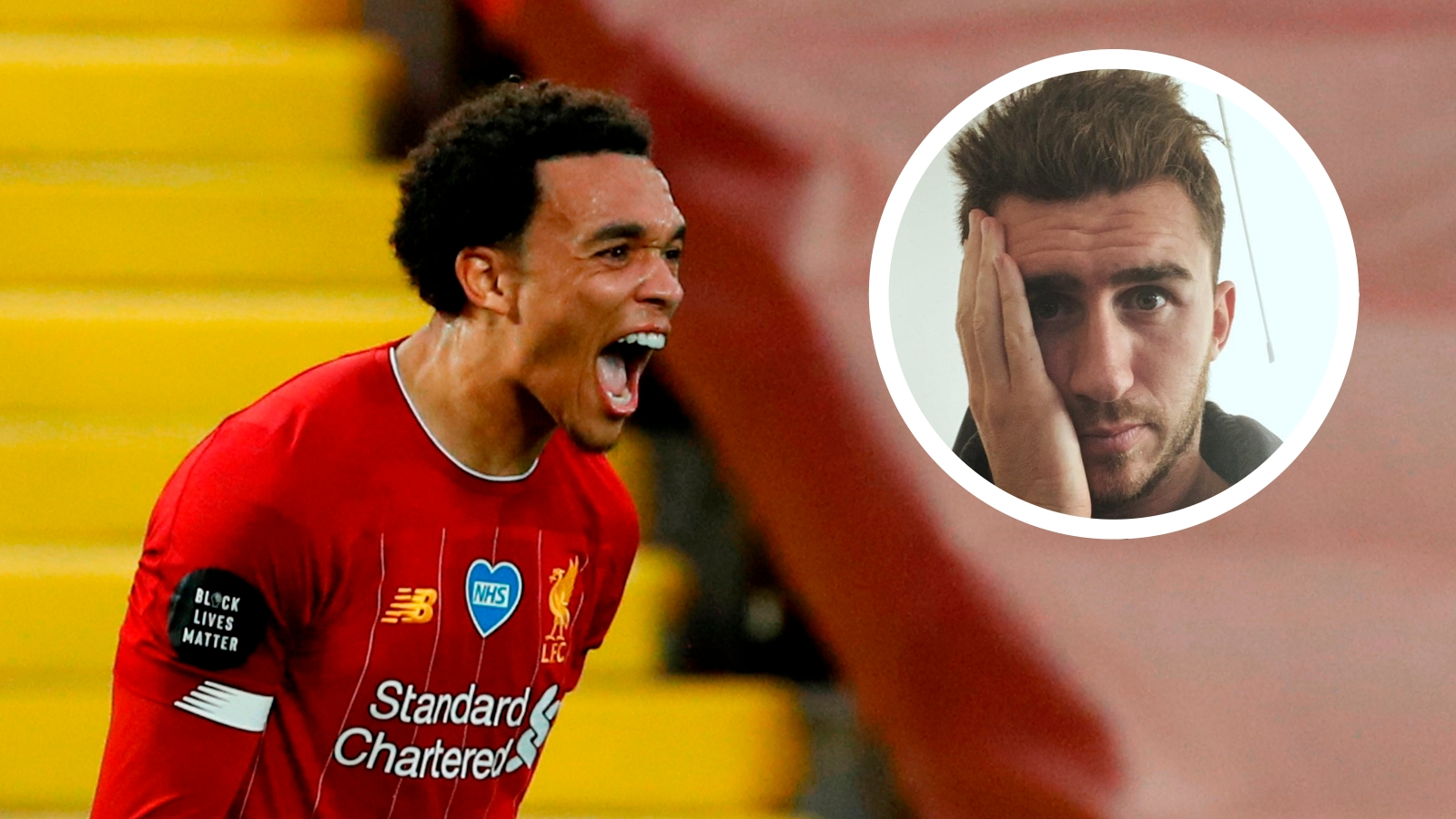 premier league stars alexander arnold and laporte find faults with fifa 21 ratings goal com premier league stars alexander arnold