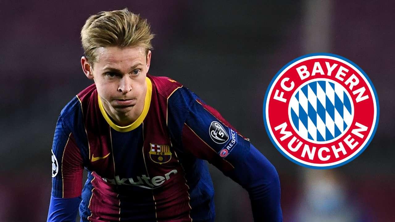 Frenkie de Jong Barcelona Bayern Munich