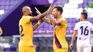 Arturo Vidal, Lionel Messi, Valldolid vs Barcelona