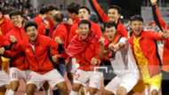 Nguyen Van Toan - Tran Thanh Son - Truong Van Thai Quy - Nguyen Thanh Chung - Bui Tien Dung - Ha Duc Chinh   U22 Vietnam vs U22 Indonesia   SEA Games 30 - 2019   Finals