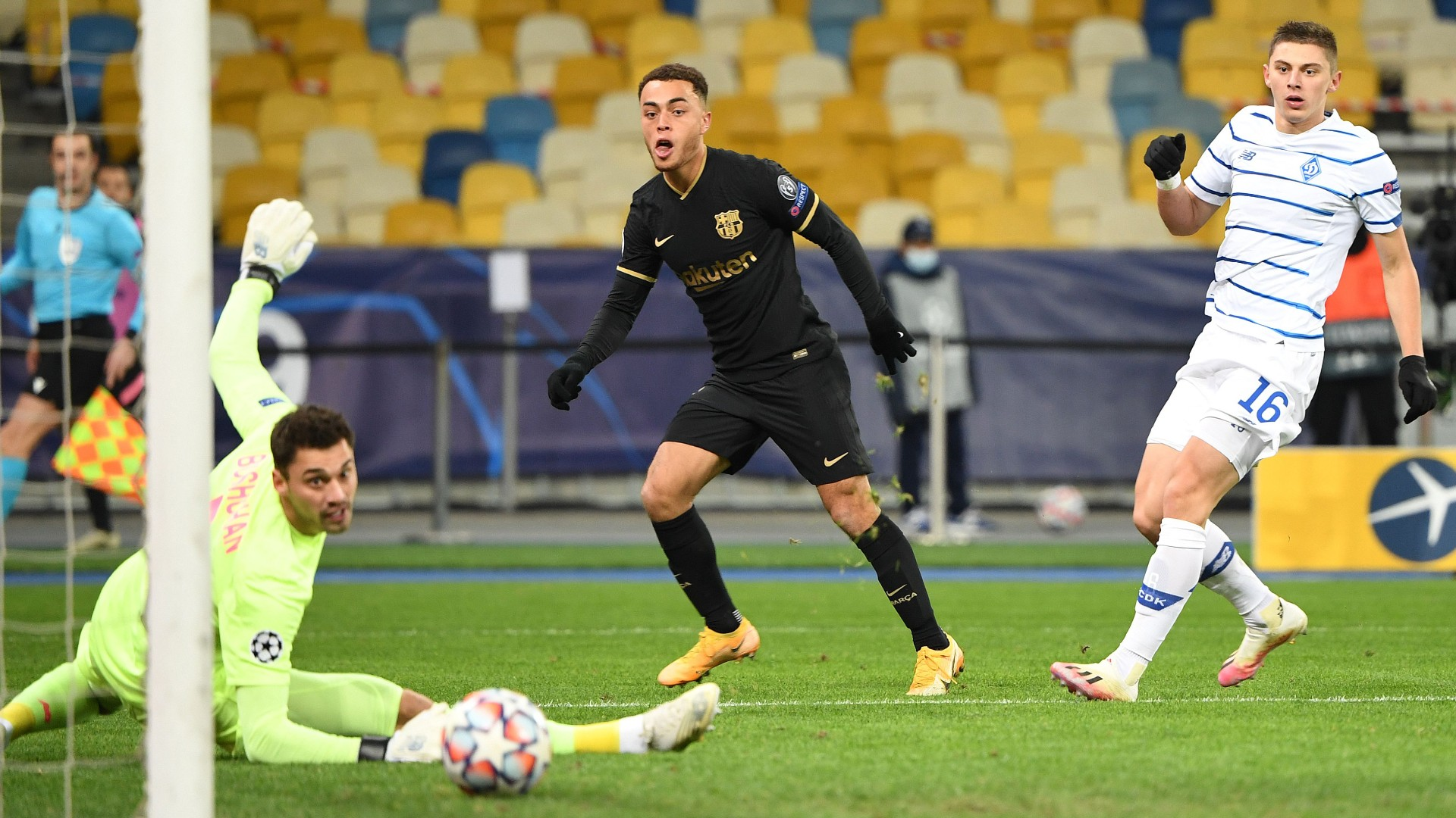 'It's a perfect day' - USMNT star Dest delighted to open Barcelona account in Champions League win at Kiev