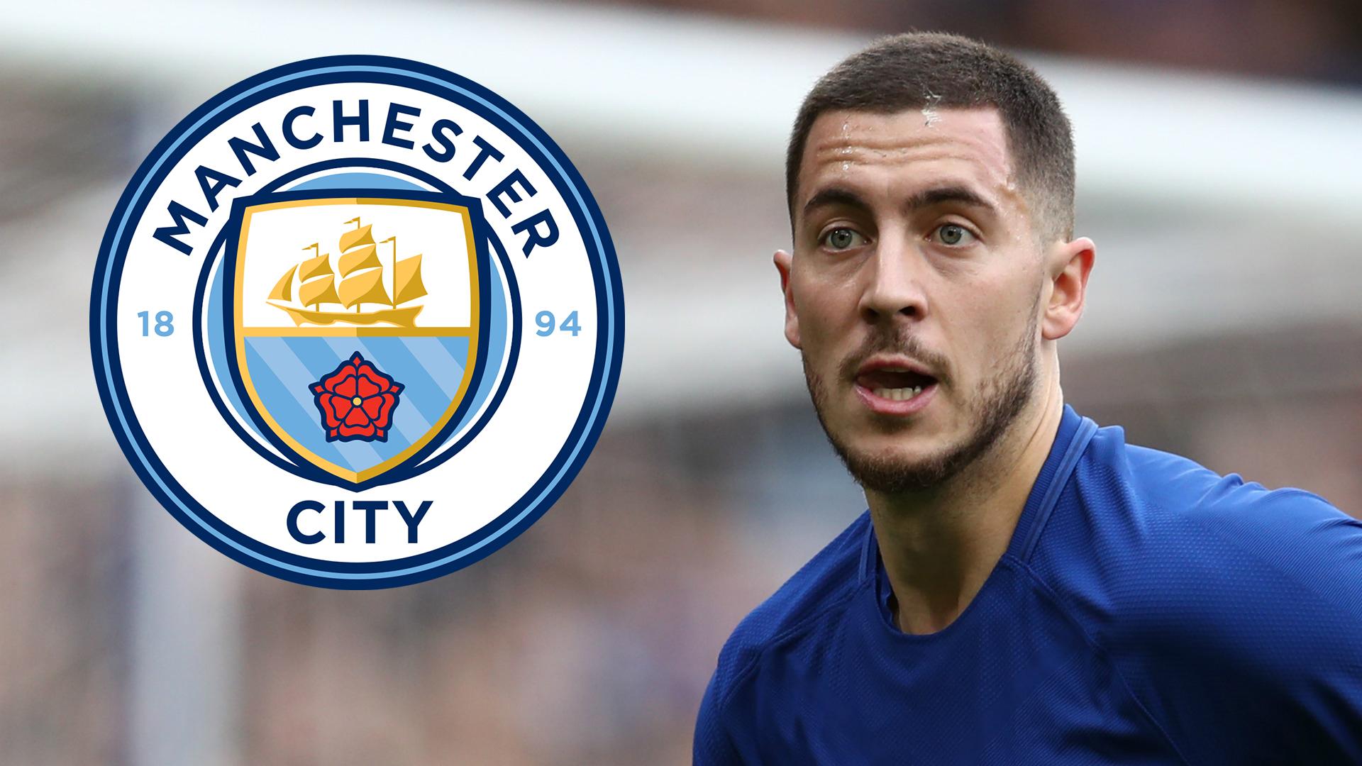 Eden Hazard Manchester City