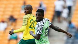 Thamsanqa Mkhize, John Ogu - South Africa vs. Nigeria