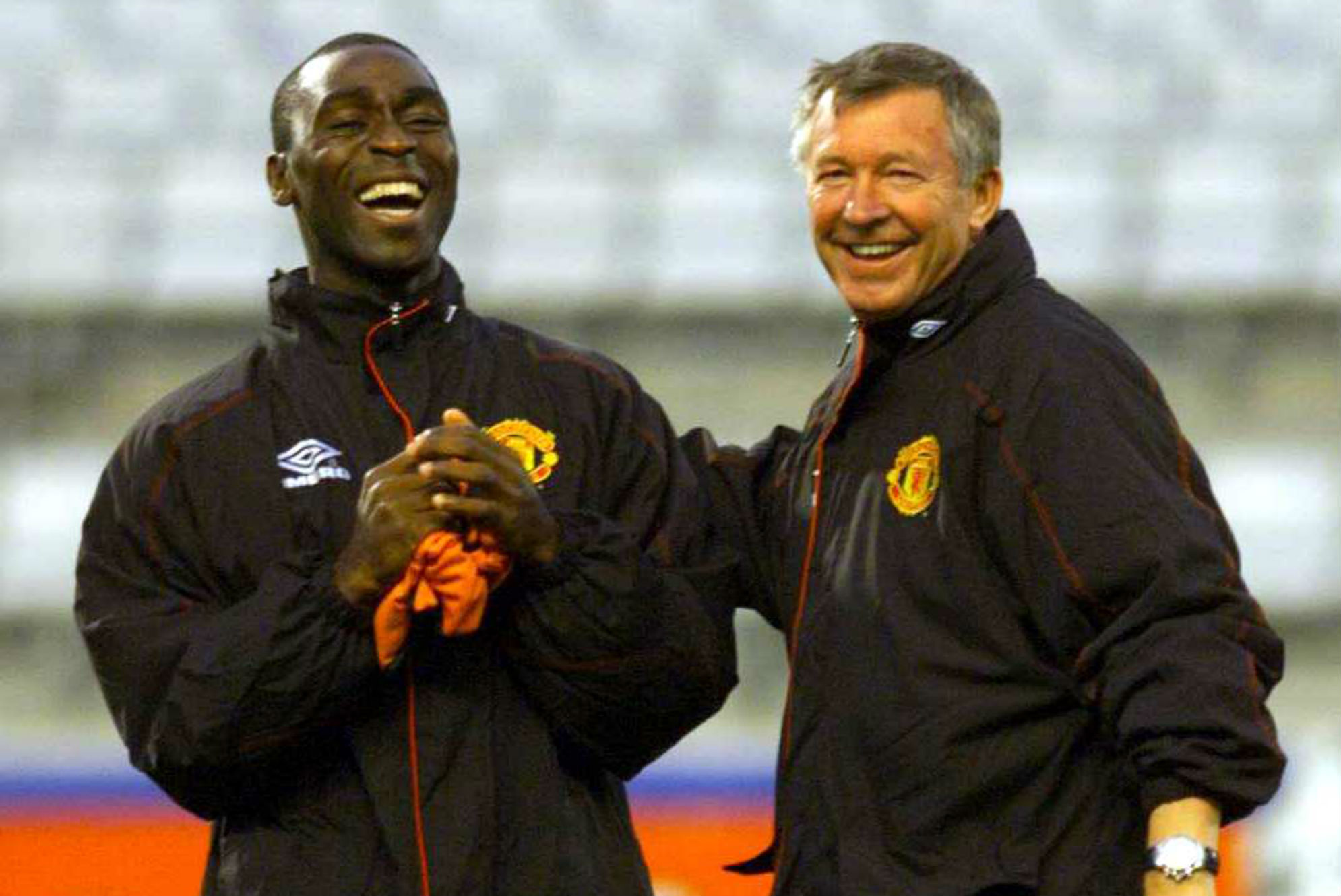 Andrew Cole, Sir Alex Ferguson Manchester United