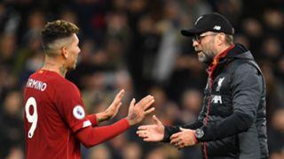Firmino/Klopp Liverpool 2019-20