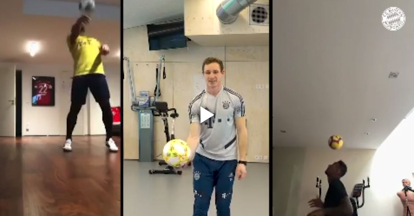 Football News, Live Scores, Results & Transfers | Goal.comVIDEO - Freestyler als Gast: Bayern-Stars müssen im Cyber-Training zaubern