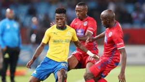 Mamelodi Sundowns v SuperSport United, April 2019 Phakamani Mahlambi
