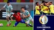 por donde ver los partidos de la copa américa argentina, chile y colombia