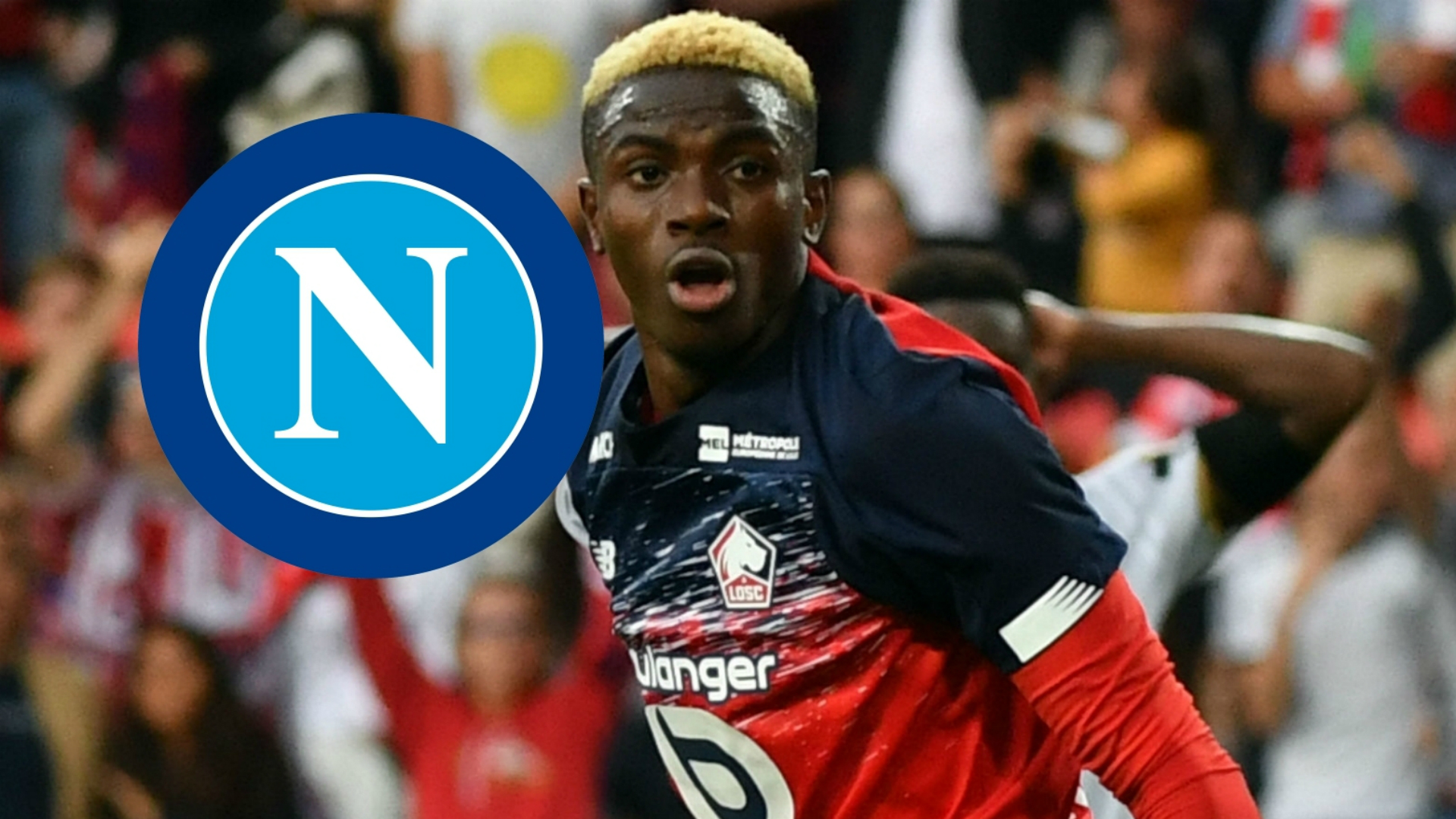 Osimhen Set To Complete 81 Million Napoli Move From Lille Report Goal Com