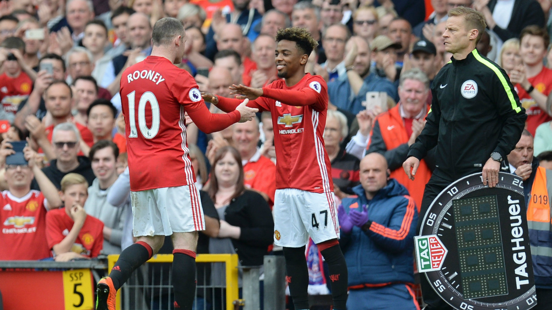 Angel Gomes Manchester United v Crystal Palace