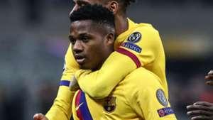 Barça : Ansu Fati plus jeune buteur de l'histoire de la C1