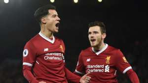 Coutinho, Andy Robertson, Liverpool