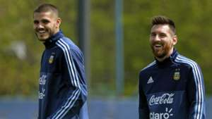 'He is the best player in the world' - Icardi rubbishes claims of rift with Messi