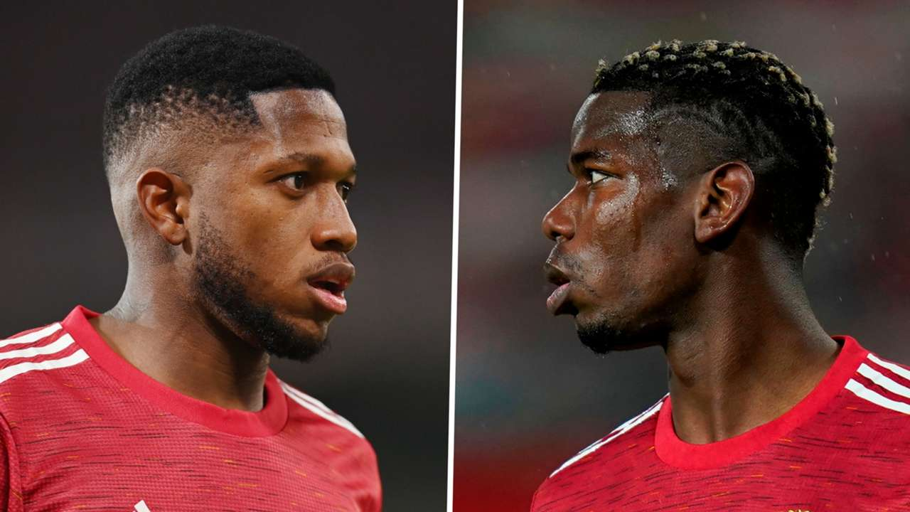 Fred Paul Pogba Manchester United