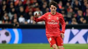 Alvaro Odriozola Valencia Real Madrid LaLiga 03042019