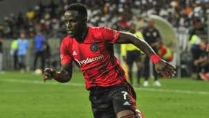 Gabadinho Mhango of Orlando Pirates,  February 2020