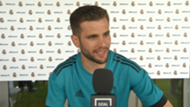 Nacho Fernandez, Real Madrid player, during the exclusive interview with Goal ahead the Champions League final