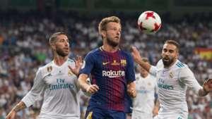 Ivan Rakitic Sergio Ramos Barcelona Real Madrid 17082017