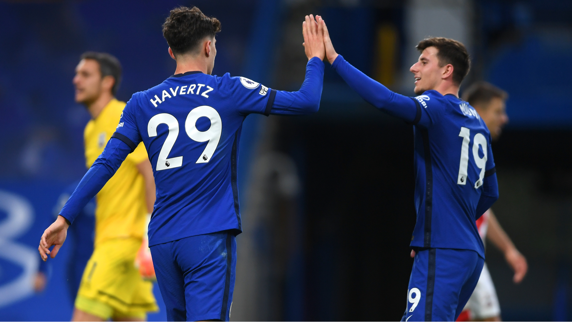 'He grabs my face' - Mount on first encounter with future Chelsea team-mate Havertz